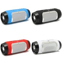 Portable Bluetooth Speaker Rechargeable Mini Wireless Speaker MP3 FM Radio For Smartphone Tablet PC Stereo AUX