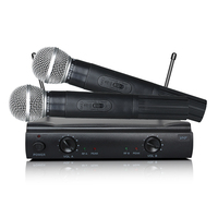 Atacado Lapela Handheld Microfone Sem Fio VHF MV 58 Clear Sound Performance Gear para o ensino da família KTV Karaoke|Microfones| |  -