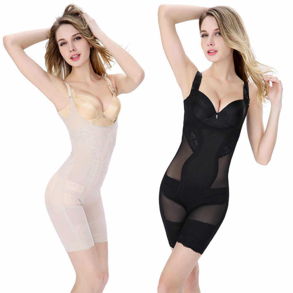 d02f6e4da3 Women Slimming Bamboo Shaper Underbust Shapewear Corset Body Control  Bodysuit