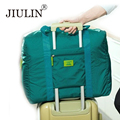 Jiulin 2016 nueva edición de han de moda impermeable de nylon plegable de viaje para recibir el paquete recibe el bolso del recorrido masculino ropa bolsa