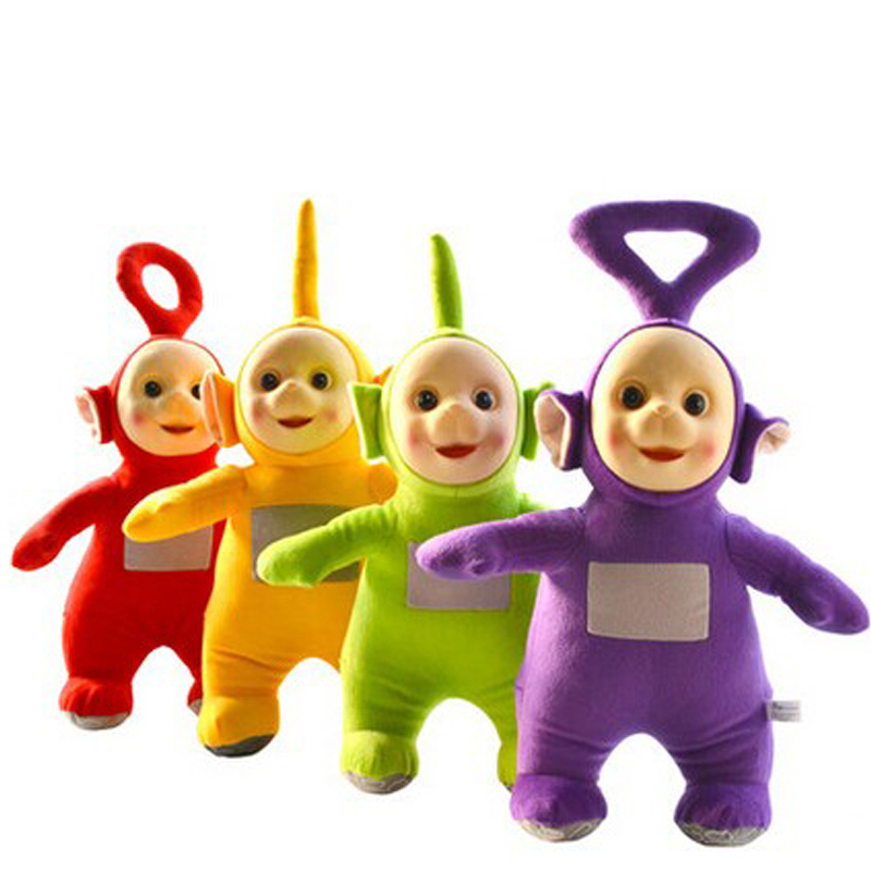 4pcs/set 2018 Teletubbies Laa Po Tinky Dipsy Plush Toy Doll 25cm ...