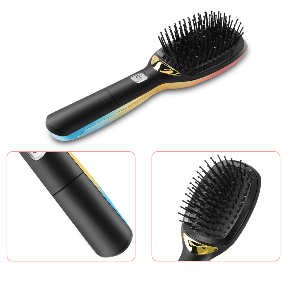Upgrade Electric Negative Ionic Hair Brush With Handle Magic Anti static Hairbrush Massage Comb Smooth Hair Comb Styling Tools 7
