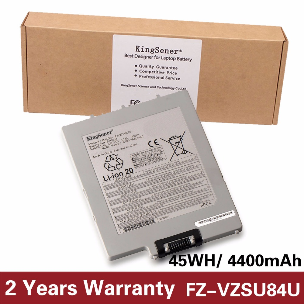 KingSener New FZ-VZSU84U FZ-VZSU84R Laptop Battery For Panasonic FZ-G1 G1 Notebook 10.8V 4400mAh/45WH VZSU84U VZSU84UR ls3578 fz