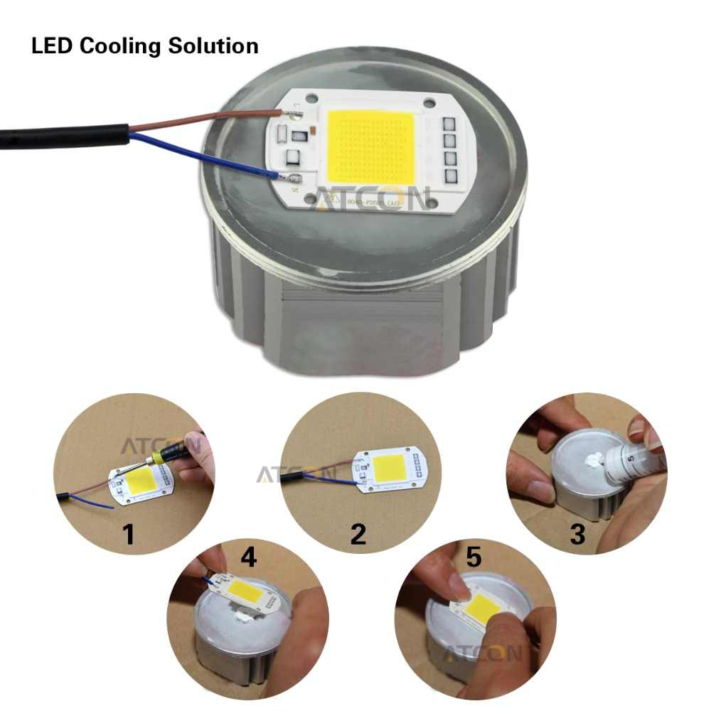 COB LED Chip AC 220V 3W 5W 7W 9W 20W 30W 50W Led light Diode Smart IC Driver For DIY LED Floodlight Spotlight Bulb