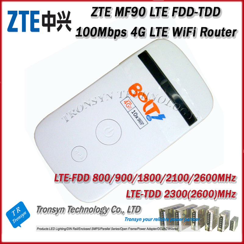 Free Shipping 2014 New Arrival Original Unlock Dual Mode LTE TDD 100Mbps ZTE MF90 uFi 4G LTE Rotuer 2014 new free shipping dual display hk 809 with waistbelts machine for pedicure