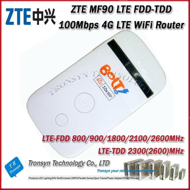 Free Shipping 2014 New Arrival Original Unlock Dual Mode LTE TDD 100Mbps ZTE MF90 uFi 4G LTE Rotuer rockshox domain dual crown 2014