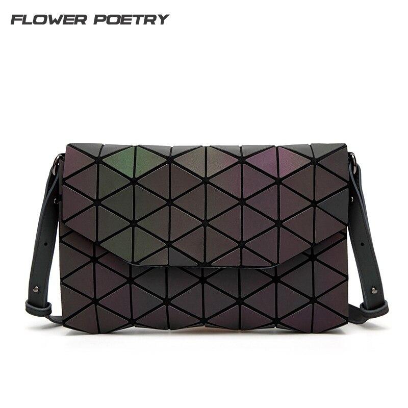 Известный бренд Для женщин сумка Геометрия сумки для девочек плотная Сумки Женский Алмаз Crossbody сумка