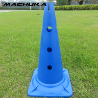 MACHUKA 1pc 20 5 Inch Soccer Marker Cones Football Training Sports Entertainment Traffic Flag Barrel Obstacle