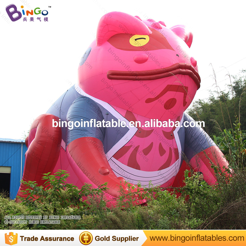 Giant 33ftH / 10M  inflatable frog model inflatable Vented for Naruto theme decoration with blower inflatable toy giant inflatable balloon for decoration and advertisements