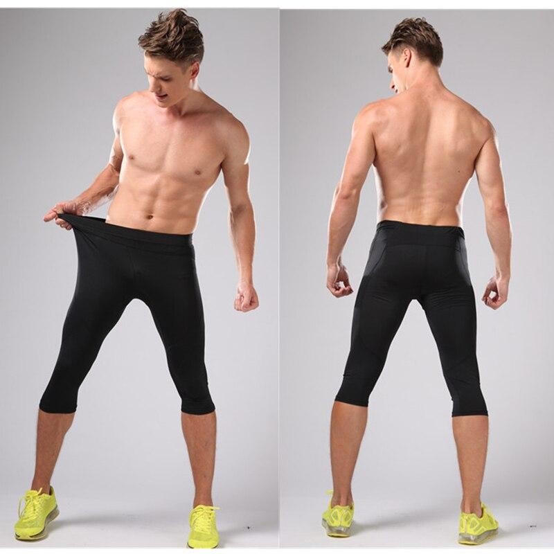 Կոմպրեսիոն վազող տաբատ Տղամարդկանց 3/4 - Սպորտային հագուստ և աքսեսուարներ - Լուսանկար 6