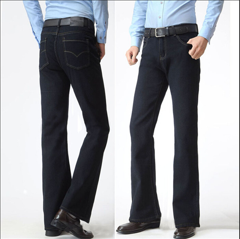 Online Get Cheap Black Boot Cut Jeans for Men -Aliexpress.com ...
