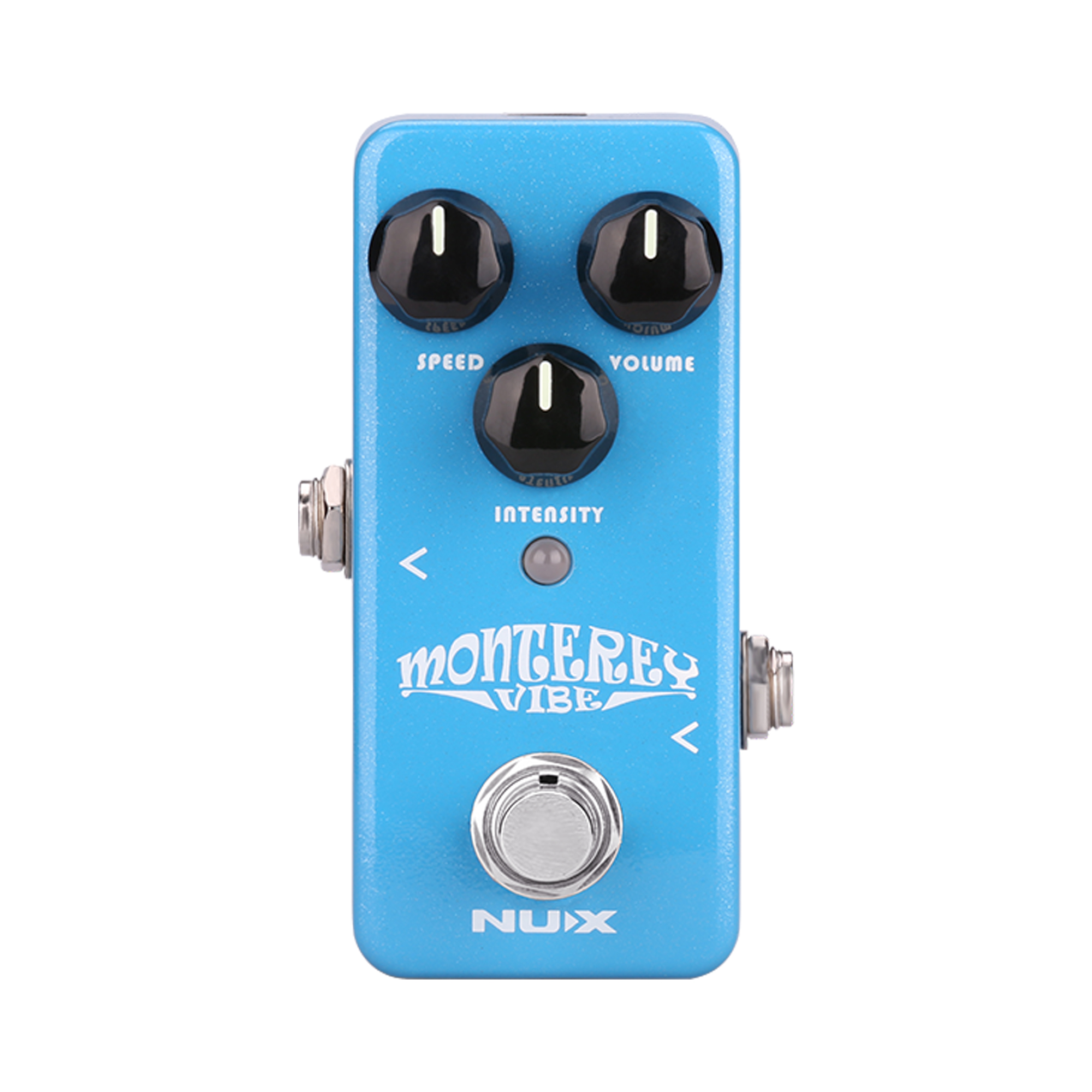NUX Monterey Vibe Guitar Effect Pedal Mini Core Series Stompbox Chorus Rotary-Speaker Phaser Effects Complex Psychedelic Sound nux pmx 2 multi channel mini mixer 30