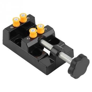 Mini Hobby Bench Vise Woodworking Clamp On Table Vice Mulitifuncational Table Vice Carving Bench Clamp Drill Press Flat Vice цена 2017