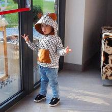 MUQGEW bebé Niños Niñas ropa conjunto de manga larga Animal Print Tops +  Pantalones trajes ropa de bebé ropa recien nacido roupa. 5aa953588c0