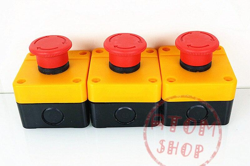 Lighting Accessories Genteel Emergency Stop Button Box Xb2 Y090 Pit Elevator Emergency Stop Switch La38la39 Often Close 22mm Y F A Great Variety Of Goods