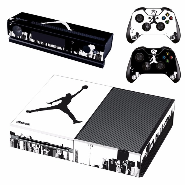 on sale 9688b 3ab00 Air Jordan Basketball Skin Sticker Decal For Microsoft Xbox One Console and  2 Controllers For Xbox