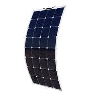 100 Вт 18 В Гибкая монокристаллического кремния Панели солнечные PV качество Мощность 12 В Батарея