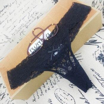 L XL XXL XXXL adjusted Sexy cozy  Lace Briefs g thongs Underwear Lingerie for women 1pcs zx1041