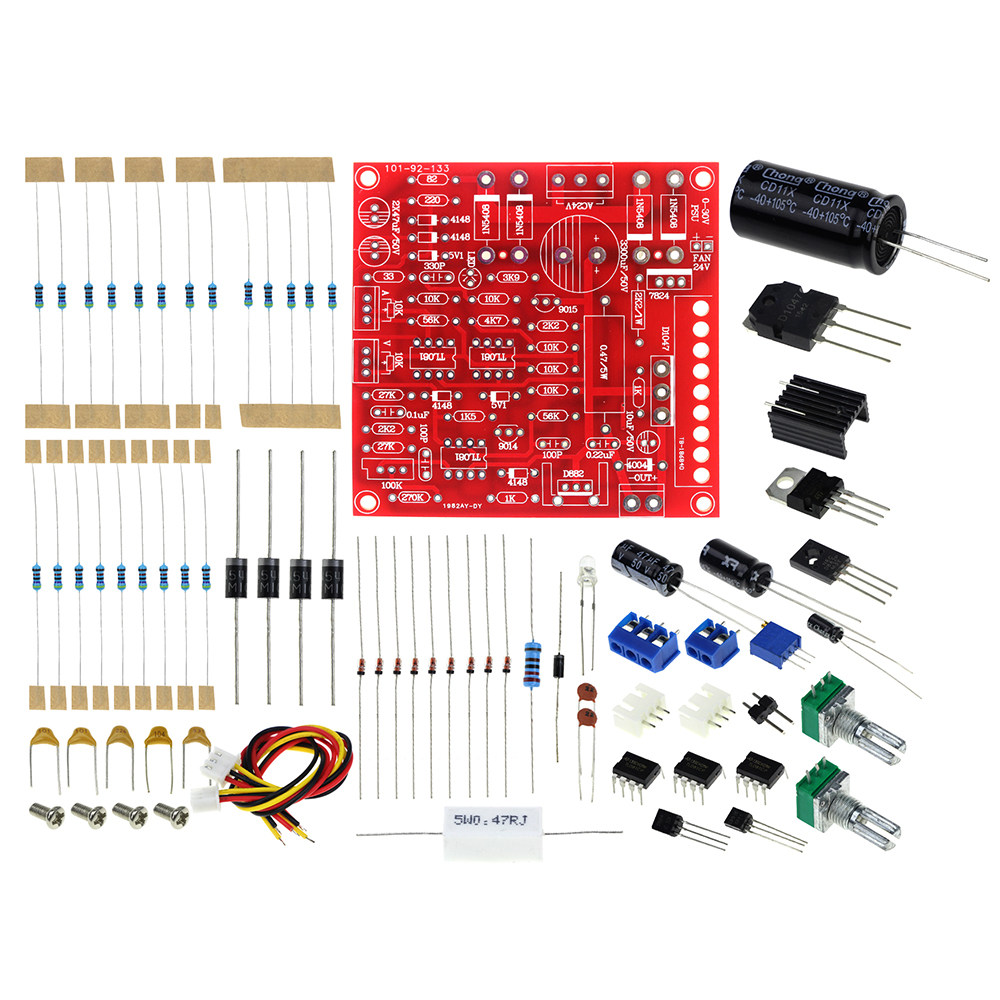 Online Shop 2018 New Red 0 30v 2ma 3a Continuously Adjustable Dc 15a Variable Regulated Power Supply Circuit Diagram Diy Kit Short Current Limiting Protection