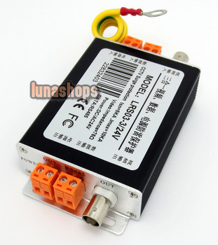 LN003106 CCTV System 3 in 1 Video Data Power Protection Arrester bnc lrs03-3/24v