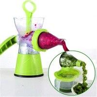 Multifunction Desktop Manual Juice Maker Juicer Household Mini Ice Cream Maker ABS Health Material Fresh Juice