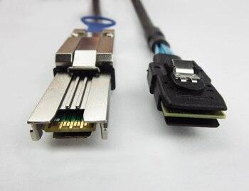 Free Shipping 12Gb/s Mini SAS 26Pin SFF-8088 4x to SFF-8087 MiniSAS 4i 36Pin DAC Cable 2-Meter