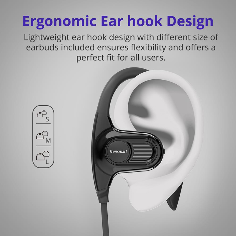828bec24a6f8fd Tronsmart Encore Hydra IPX7 Waterproof Rated Bluetooth Headphones HiFi  Superior Sound Quality Enhanced Noise Cancelling-in Bluetooth Earphones &  Headphones ...