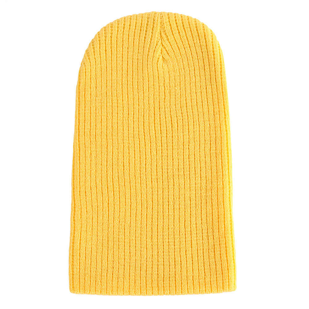 73a5afbe0a5 Hats Men Women Autumn Winter Casual Knitted Hats Women Men Warm Cap Outdoor  Beanie Casual Yellow