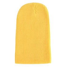6212ea2bc7d Hats Men Women Autumn Winter Casual Knitted Hats Women Men Warm Cap Outdoor  Beanie Casual Yellow. 8 Colors Available