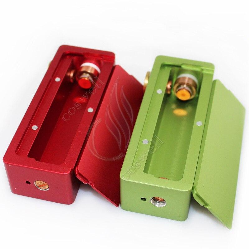 US $112 5 |5pcs Mini Cherry Bomber Box Mod Single 18650 battery Mechanical  mod VS Mini ABS Hellhound box mod-in Electronic Cigarette Mods from