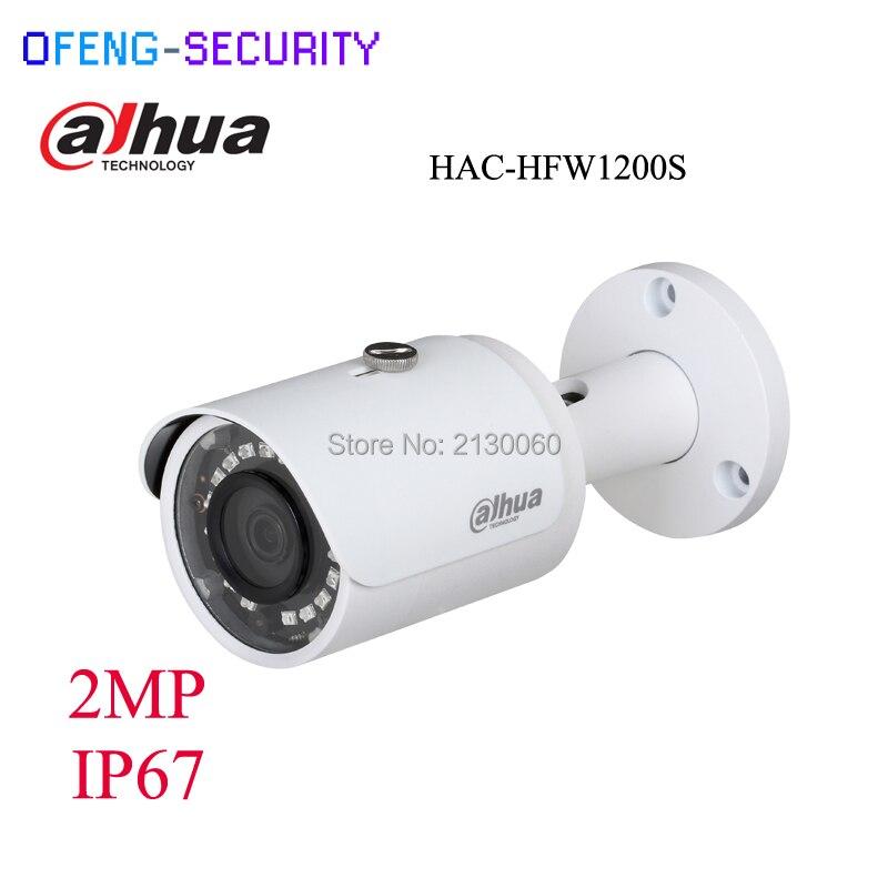Dahua 2 Megapixel metal case HAC-HFW1200S 1080P Water-proof IR30M Bullet HDCVI camera support XVR and HCVR, CVI camera