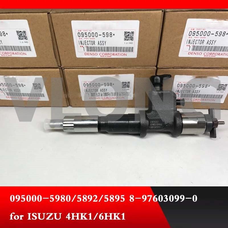 Подлинный и оригинальный новый инжектор Common rail 095000-5985 095000-0995 8976030995 8-97603099-5 инжектор деталь