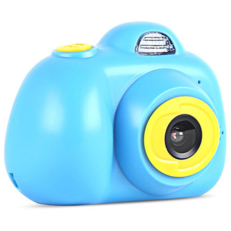 Camera Mini Kids Camera Multi-Language Function Puzzle Game Life Record Electronic Camera Educational Toy Children'S Birthday