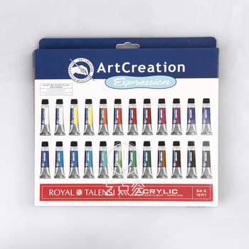 Freeshipping ArtCreation Royal Talens artist level senior acrylic pigment 12ml 24 color