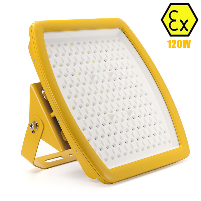 UL explosion-proof led floodlight 120W AC110v 220v 230v 240v UL 120W LED explosion proof light replace 400W HPS metal halide high quality industrial used small power heater use in areas with explosion hazard 150w explosion proof heater