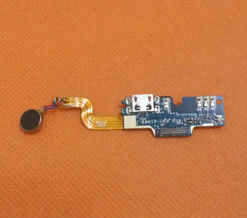 Utilisé Original USB Carte de Charge de Prise + Microphone + vibration Pour DOOGEE F5 4G LTE 5.5 pouce MTK6753 Octa Core FHD Livraison gratuite