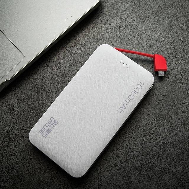 Cubo nueva marca original m101 10000 mah dual usb power bank para el iphone samsung sony smartphone