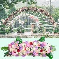 Свадебные реквизит поддельные цветок искусственный бутон Цветочная композиция свадебный этап дорога украшение для окна studio photograp