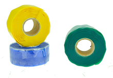 25mm*3m*0.5mm good instant adhesion soft silicone tape for sealing and insulating wire splices