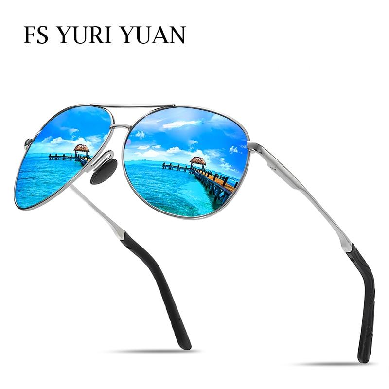 FS YURI YUAN Polarizada Homens Óculos De Pesca Clássico Pilot Sport HD Dirigir Óculos De Sol Para As Mulheres Caminhadas Ao Ar Livre Ciclismo Eyewear 8013
