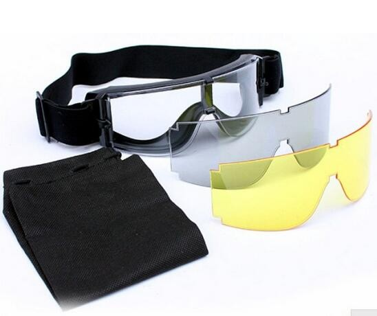 Hunting Military USMC Airsoft X800 Wind Dust Protection Tactical Goggle Glasses Free Shipping