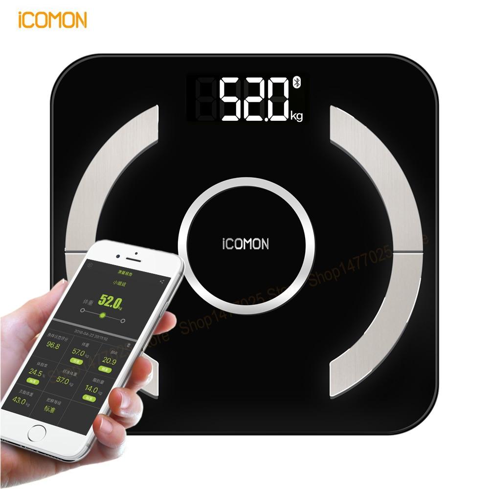 Premium Digital Body Fat Smart Weight Mi Scales Household Bathroom Electronic Weighting Floor Scales Bluetooth 4
