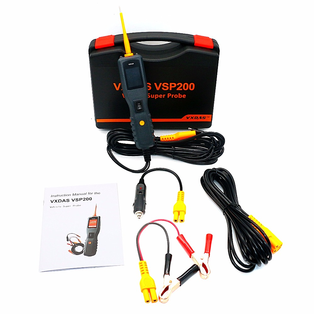 New Arrival Vxdas Vsp200 Power Scan Tool Replace Autel Ps100 Car Electric Circuit Tester Vgate Powerscan Pt150 Probe Electrical System Better Than In Code Readers Tools
