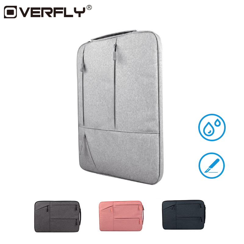 Overfly Portable 12/13.3/15.6 Inch Laptop Bag For Dell HP Asus Acer Lenovo Macbook Waterproof Notebook Computer Handbag Cover
