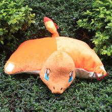 40 33cm CHARMANDER Plush Fold Pillow Cushions Plush Toys Soft Stuffed Doll