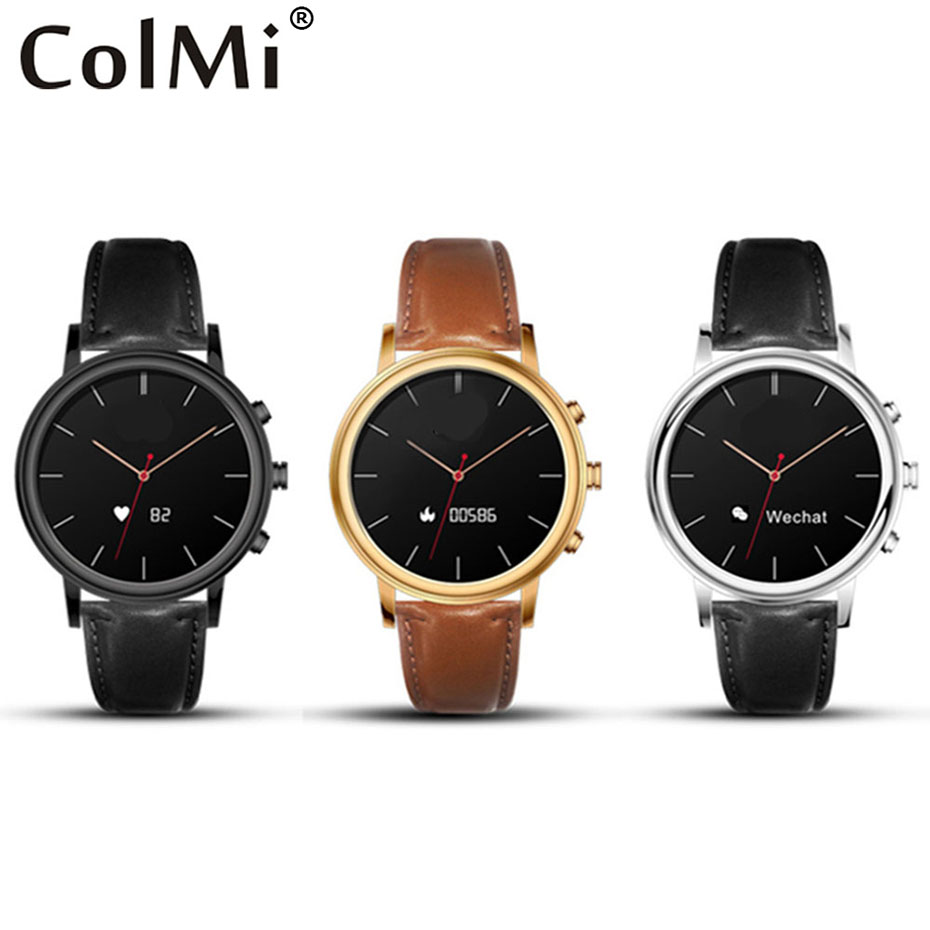 Colmi Smart Watch VS81 Waterproof Heart Rate Monitor Traditional Quartz Clock Bluetooth Connect Apple Android Phone