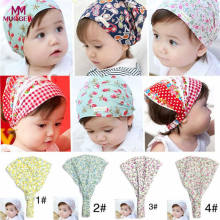 0-3Years old Summer Autumn Baby Hat Girl Boy Cap Children Hats Elastic Cute Toddler Kids Scarf Beanie Outdoors Sun Helmet Cap(China)