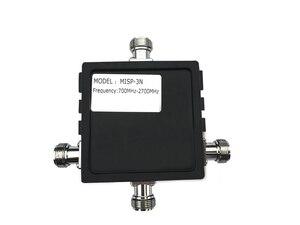 Image 4 - 700 MHz ~ 2700 MHz 3 Way Power Splitter N female connector 3 way splitter voor sluit mobiele signaal repeater en antenne kabel @ 8.8