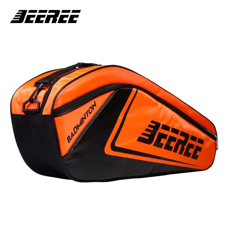 Big Racquet Sports Bag Badminton Bag Crossbow Waterproof Multi-layer Placement Tennis Racket Dacron backpack shoes Bag