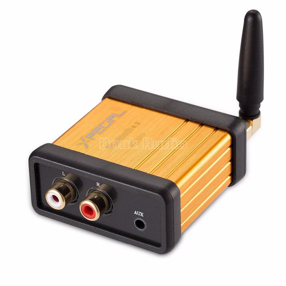HiFi Bluetooth 4.2 Audio Receiver Box APTX For Car Amplifier Speaker Modify